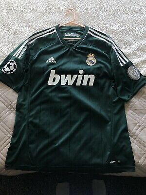 ADIDAS REAL MADRID UEFA CHAMPIONS LEAGUE THIRD JERSEY 201213 Large Green