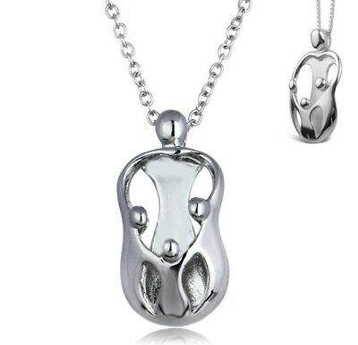 Mother and 3 Children necklace Charm perfect Mothers Day Gift FAST Shipping