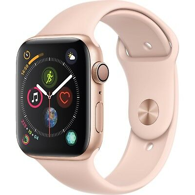Apple Watch Series 4 GPS 40mm Gold Case with Pink Sport Band MU682LLA