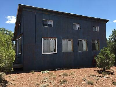 693ft HOUSE NEAR SHOW LOW AZ WITH AWESOME VIEWS - NO RESERVE  CASH SALE