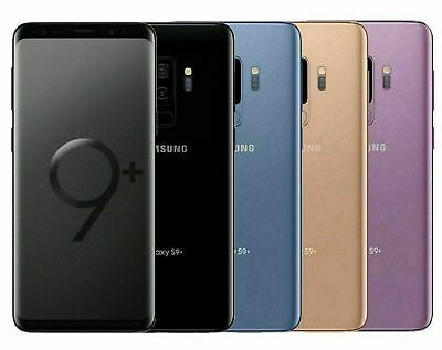 Samsung Galaxy S9- PLUS SM-G965U 64GB FACTORY Unlocked DEVICE 4G OB Excellent
