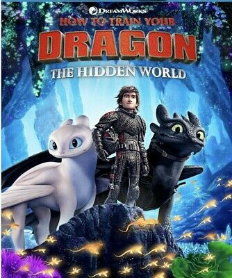 How To Train Your Dragon The Hidden World brand new dvd 521