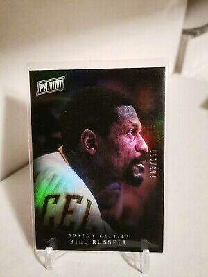 2018 PANINI BLACK FRIDAY BILL RUSSELL HOLO FOIL SP PARALLEL 163199