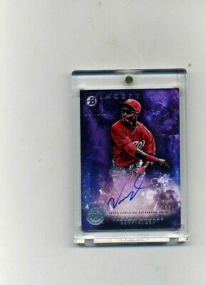 2016 Topps Inception Victor Robles RC Autograph on  card 54150