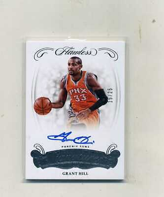 2017-18 Panini Flawless Bask- Grant Hill Excellence Signatures Autograph 1525