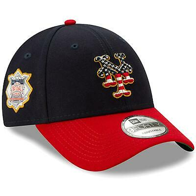 New York Mets Hat 2019 Stars - Stripes 4th of July 9FORTY Adjustable Cap