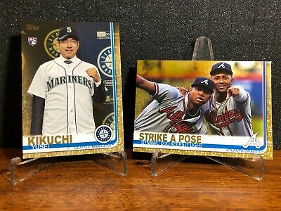 2019 Topps Series 2 GOLD PARALLEL You Pick 351-550 FINISH SET d2019 FREE SHIP