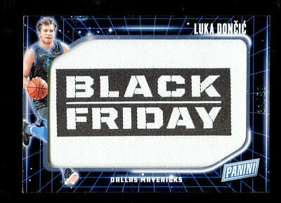 2018-19 Panini Fathers Day LUKA DONCIC Rookie Black Friday Relic 3150