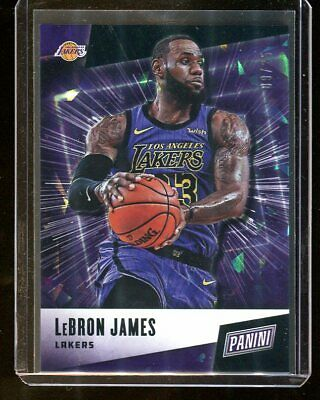 2018-19 Panini Fathers Day LeBRON JAMES Lakers 925 15