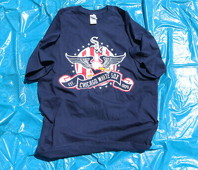 Chicago White Sox Shirt 4th Of July Size XL T-Shirt Giveaway