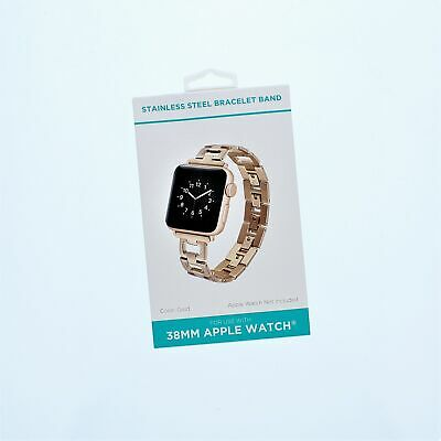 Apple Watch Stainless Steel Bracelet Band 38mmGOLD