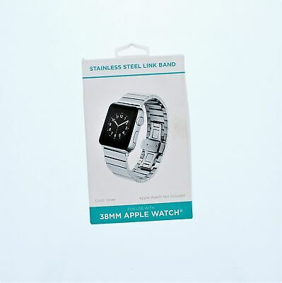 Apple Watch 38MM Stainless Steel Link Band 38MMSilver