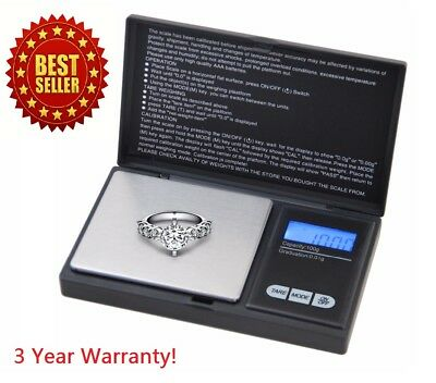 Digital Scale 1000g x 0-1g Jewelry Herb Silver Coin Gram Professional Mini Scale