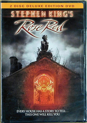 STEPHEN KINGS  Rose Red 2 Disc Deluxe Edition DVD OOP NEW SEALED