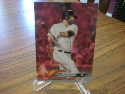 2018 TOPPS PINK MOTHERS DAY MITCH MORELAND 4950 RED SOX 104