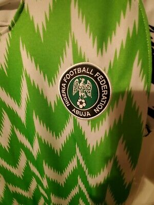 Nigeria world cup jersey size medium