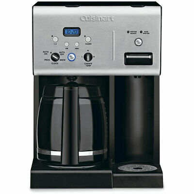 Cuisinart CHW-12 Coffee- 12-Cup Programmable Coffeemaker w Hot Water System