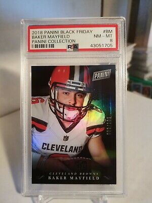 2018 Black Friday Panini Collection BM 089199 Baker Mayfield PSA 8