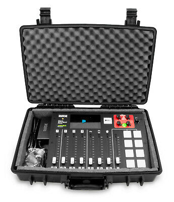 Waterproof Carry Case fits the Rode Rodecaster Pro Podcast Production Console