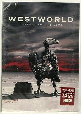 NEW Westworld Season 2 The Door DVD 2018 3-Disc Set - FREE FAST SHIPPING