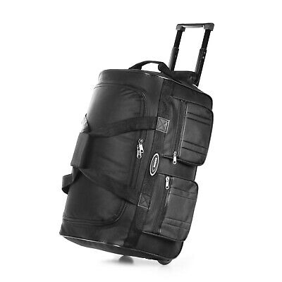 20 Rolling Wheeled Duffle Bag Tote Carry On Travel Suitcase Luggage Lighweight