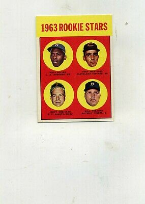 1963 Topps 468 1963 Rookies Bill Freehan Rookie-ExMtNM Nice-Well Centered