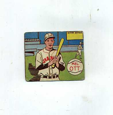 1943 MP and Co R-302-1 Mel Ott-Authentic and Affordable
