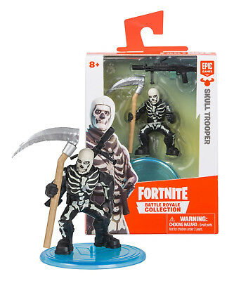 Fortnite Skull Trooper Battle Royale Collection 2 Figure Mint in Box