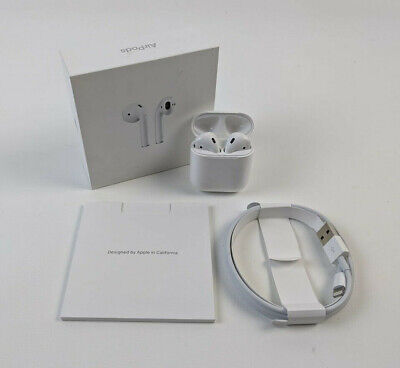 Apple AirPods 2nd Generation with Charging Case MV7N2AMA - White