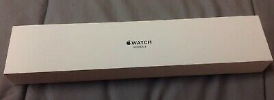 Apple Watch Series 3 38mm GPS Space Gray Aluminum W Inserts Empty Box Only