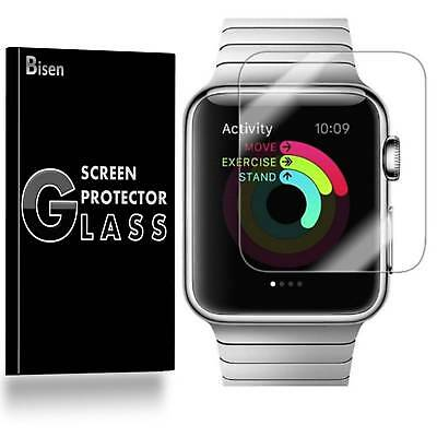 2-PACK Tempered Glass Screen Protector For Apple Watch Series 6 5 4 SE 44 mm