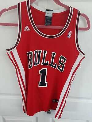 Adidas Nba Chicago Bulls Derrick Rose Basketball Jersey Medium