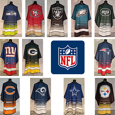 NFL Football Official License My Team Cape Barber Sports Hair Cutting Capes
