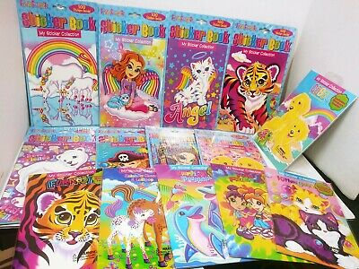 Lisa Frank sticker collection book new Choose your own tiger cheetah unicorn