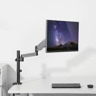 Gas spring single LCD Monitor arm desk mount computer support workstation