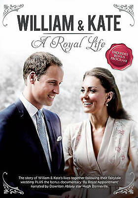 William - Kate A Royal Life Kate Middleton DVD