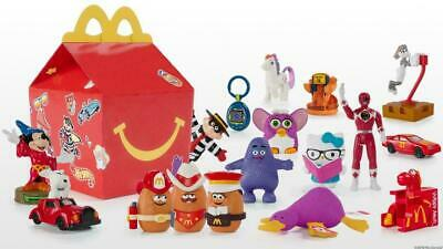2019 McDONALDS 40th ANNIVERSARY RETRO HAPPY MEAL TOYS