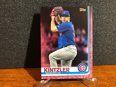 2019 Topps Update BRANDON KINTZLER Cubs US275 MOTHERs DAY PARALLEL 1050