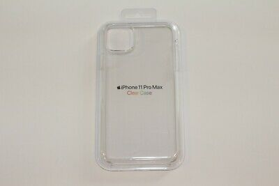 GENUINE Apple Clear Case iPhone 11 Pro Max MX0H2ZMA - Clear USED