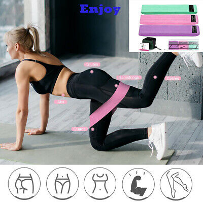 Fabric Resistance Bands for Legs and Booty Workout Hip Circle Loop Band