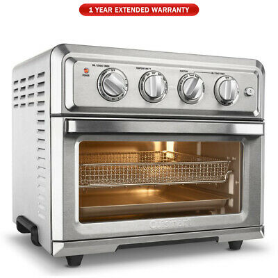 Cuisinart TOA-60 Convection Toaster Oven Air Fryer Silver - 1 Year Warranty
