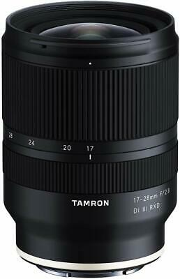 Tamron 17-28mm f2-8 Di III RXD Lens for Sony E