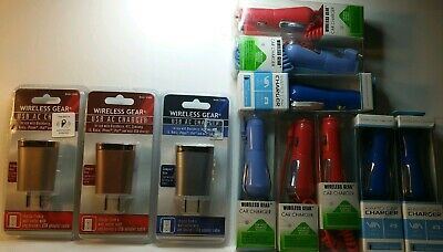 Chargers Bundle Lot 11 pcs- Great Reseller Stock- h