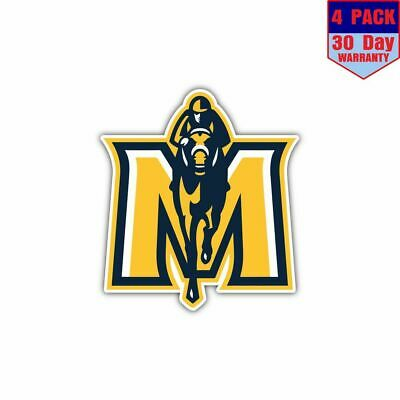 Murray State 2 4 Stickers 4X4 Inch Sticker Decal