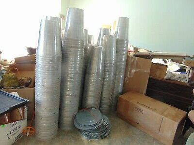 maple syrup aluminum sap buckets  lids covers-taps spiles    0001