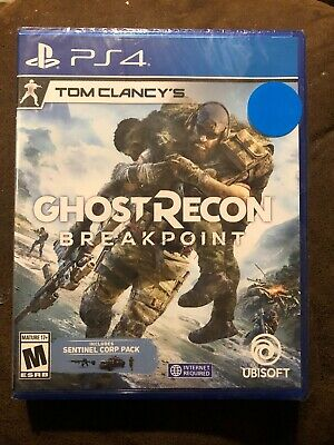 TOM CLANCYS GHOST RECON BREAKPOINT PS4 UBISOFT MATURE VIDEO GAME NEW