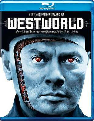 Westworld BD Blu-ray Free FAST 1ST CLASS SHIPPING W TRACKING MON THRU FRI-
