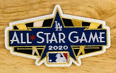 2020 ALL STAR GAME PATCH MLB Baseball Embroidered Los Angeles Iron Sew On LA