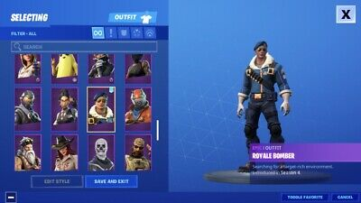 OPEN TO ANY OFFER  Stacked Fortnite S3-S9 Maxed PS4Mobile LOGIN Full Access