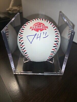 Josh Hader Autographed All Star Game Baseball 2018 Guaranteed Authentic